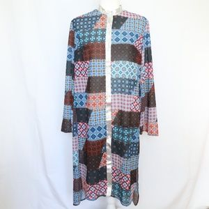 Clover Canyon Long Duster Top Small